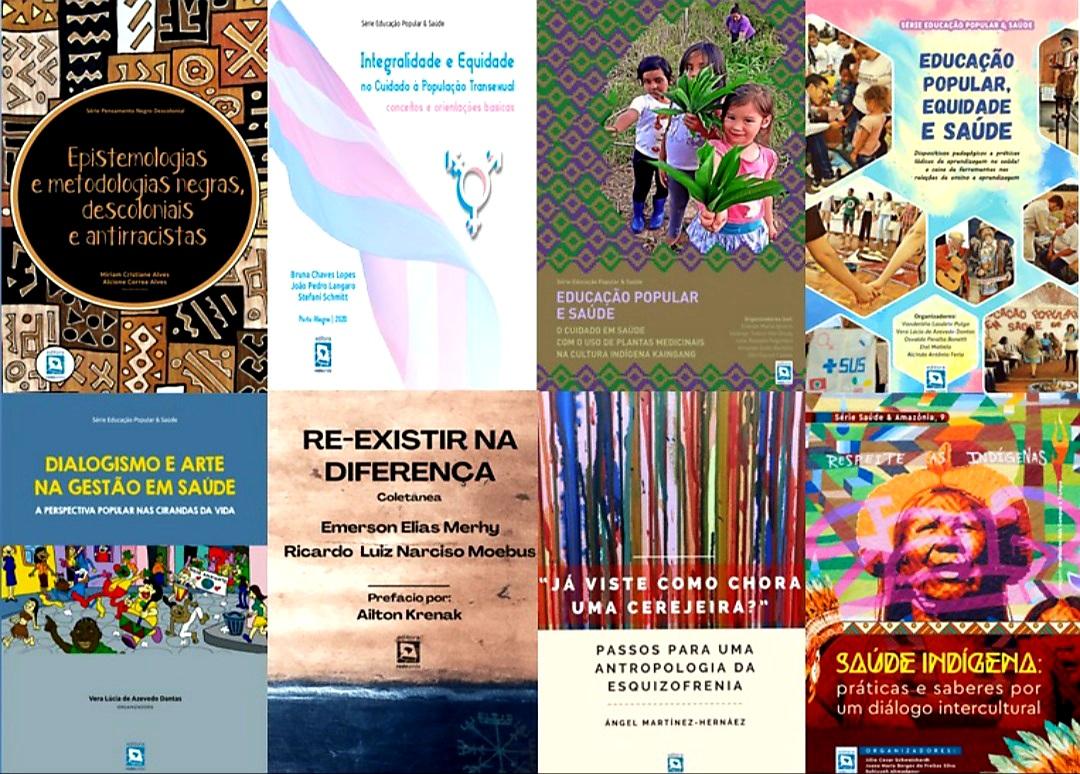 Editora Rede Unida no esquenta do 14º Congresso: SETE NOVOS LIVROS DISPONÍVEIS NA BIBLIOTECA VIRTUAL