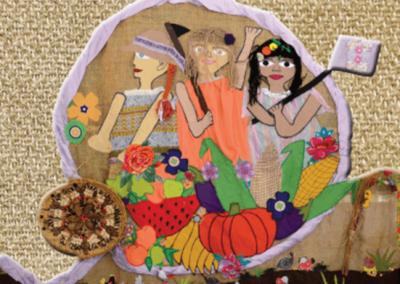Mulheres camponesas semeando agroecologia, colhendo saúde e autonomia