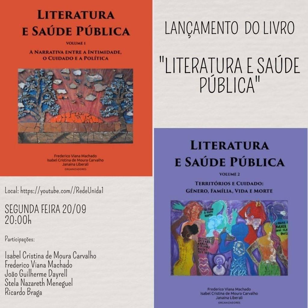 Lançamento do Livro: Literatura e Saúde Pública